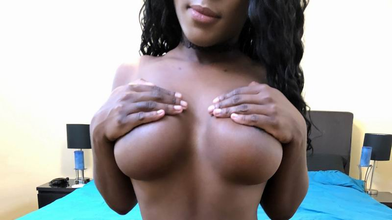 Rylee Foxxx - Black Girl With Big Tits and Belly Piercing Fucks Her White Boyfriend (2019) SiteRip |