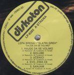 Lepa Brena (Fahreta Jahic Zivojinovic) - Diskografija  36647027_Ploca_A