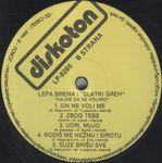Lepa Brena (Fahreta Jahic Zivojinovic) - Diskografija  36647028_Ploca_B