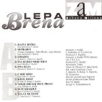 Lepa Brena (Fahreta Jahic Zivojinovic) - Diskografija  36647358_Kaseta_Zadnja