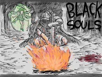 (同人ゲーム)[170730] [イニミニマニモ?] BLACKSOULS -黒の童話と五魔姫- Ver.1.15 [RJ203687]