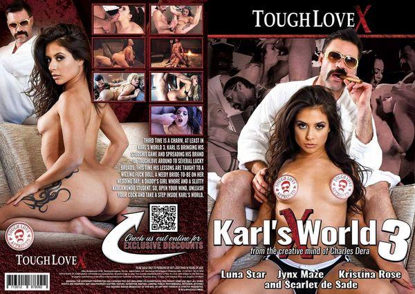 Karl s World 3 (Tough Love X) [2019 г., Big Cocks, Blondes, Brunettes, Rimming, WEB-DL, 720p] (Luna Star, Jynx Maze, Kristina Rose, Charles Dera, Scarlet De Sade)