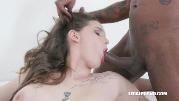 Taylee Wood enjoys black cocks takes two cocks in the ass IV443 sd