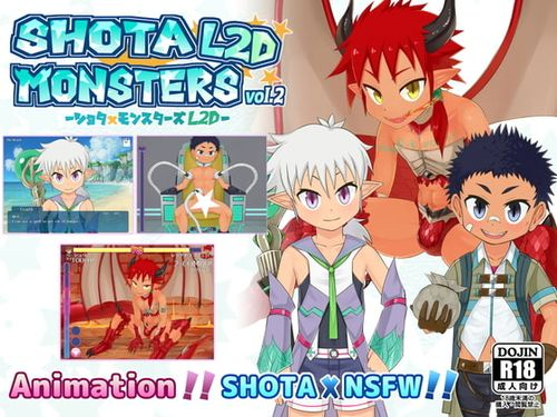 (同人ゲーム)[190922][Satoh Katoh] SHOTAxMONSTERS L2D vol.2 (English) [RE260726]